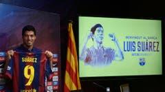Platz 8: Luis Suarez. 2014 für 82,5 Millionen Euro von Liverpool zu Barcelona. (Bild: Manu Fernandez / Keystone)