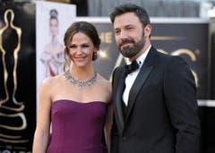 Bei ihnen besteht noch Hoffnung, dass die Ehe weiterhin hält: Jennifer Garner und Ben Affleck. (Bild: Keystone)