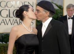 2002 küsste Angelina Jolie noch Billy Bob Thornton. (Bild: Keystone)