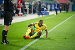 Djibril Cissé vom FC Kuban Krasnodar. (Bild: Michel Canonica)