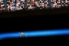 Roger Federer im Spiel in Melbourne. (Bild: Keystone)