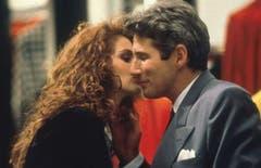 1990 - Ein reicher Geschäftsmann verliebt sich in eine Prostituierte. Ein Happy-End ist das vorprogrammiert und das Ganze endet natürlich in einem romantischem Kuss. (Bild: Keystone)