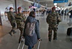FRANCE BELGIUM ATTACKS AIRPORT SECURITY (Bild: Keystone)