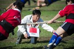 Kampfrichter aus China. (Bild: Michel Canonica)