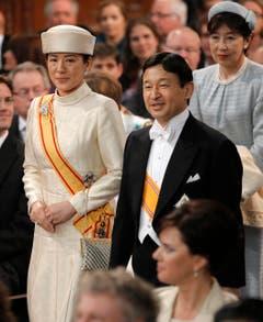 Der japanische Kronprinz Naruhito und Kronprinzessin Masako. (Bild: Keystone)