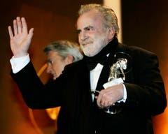 Im Januar 2008 wurde der Schauspieler mit dem Diva Entertainment Preis ausgezeichnet - für sein Lebenswerk. (Bild: Keystone)