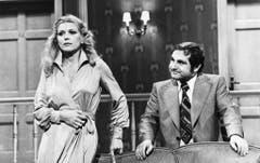 """Jörg Schneider und Melitta Gautschi gehörten 1975 zu den Hauptdarstellern des TV-Kriminalrätselratens """"Sie sind Augenzeuge"""". (Bild: Keystone)"""