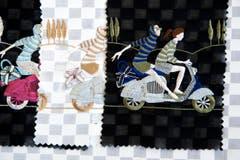 Detail aus einer Japan-Kollektion der Jakob Schlaepfer AG. (Bild: Urs Jaudas)