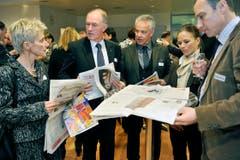 St. Gallen SG - der Tagblatt AG in Winkeln. (Bild: Reto Martin)