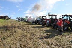 Starke Maschinen und starke Männer am Tractor Pulling auf dem Iselisberg. (Bild: Nana do Carmo)