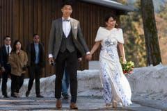 Die Hochzeit ist vorbei. (Bild: Keystone)