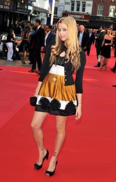 Das britische Model Peaches Geldof am 21. Juli 2008 bei der Filmpremiere von Christopher Nolan's «The Dark Knight». (Bild: Keystone)