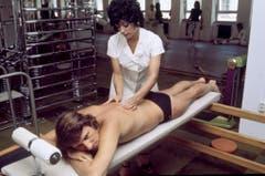 Nach dem Training gibts eine wohlverdiente Massage. (Bild: Keystone)