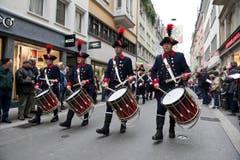Die Ehrenformation des Kantons Bern (Bild: Urs Jaudas)