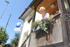 Seit 42 Jahren wirtet Käthi Meier im «Frohsinn». Noch nie zuvor hat sie bei der Arbeit eine solche Schreckenssekunde erlebt. (Bild: Maya Mussilier)