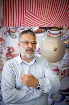Chefdesigner bei der Firma Jakob Schlaepfer AG ist Martin Leuthold. (Bild: Urs Bucher (Urs Bucher))
