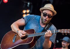 Arbon TG - Gregor Meyle am Summerdays Festival 2016 in Arbon. (Bild: Reto Martin)