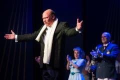 Dirigent Martin Baur. (Bild: Benjamin Manser)