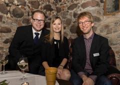 Von links nach rechts: Stefan Roth, Petra Roth, Raphael Jost. (Bild: Andrea Stalder)