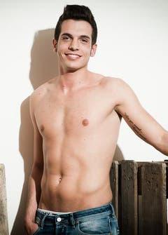 Der 21-jährige Mattia Ceraudo ist Tessiner. Er ist noch Single und studiert. (Bild: Mister Schweiz Organisation)