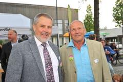 Othmar Schmid und Albert Wellauer. (Bild: Nana do Carmo)