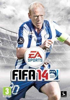 Auf einen Fussball haben die Macher dieses Fifa 14-Covers verzichtet. Warum nicht auch auf die Finger in der Mitte des Bildes? (Bild: psdisaster.com)
