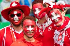 FRANKREICH, SCHWEIZ, FUSSBALL, NATI, NATIONALMANNSCHAFT, EURO 2016, (Bild: Keystone)