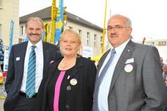 Max Vögeli, Sonja Wiesmann und Ruedi Zbinden. (Bild: MARIO TESTA)