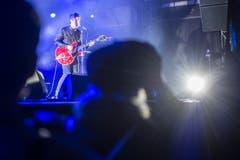 Noel Gallaghers High Flying Birds beim Auftritt. (Bild: Benjamin Manser)