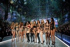 Die Victoria's-Secret-Models. (Bild: Keystone)