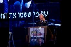 Bill Clinton sprach über den Frieden mit den Palästinensern, für den Rabin gestorben sei. (Bild: Keystone)