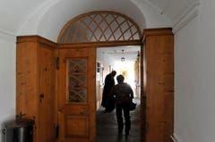 Eine offene Türe, eine weltoffene Gemeinschaft: Die Kapuziner in Appenzell. (Bild: Hanspeter Schiess)
