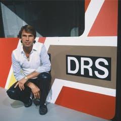 Kurt Zurfluh, Moderator von Video Match, im Jahr 1983. (Bild: SF DRS)