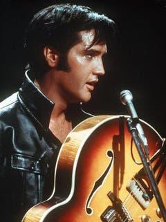 Elvis Presley im Jahr 1968. (Bild: Keystone)