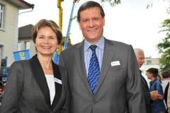 Die beiden Thurgauer Ständeräte Brigitte Häberli und Roland Eberle. (Bild: Nana do Carmo)