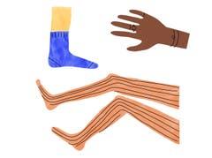 Karelu - Tulu (Südwestindien): Der Abdruck, der auf der Haut zurückbleibt, wenn man etwas zu Enges getragen hat. (Bild: pd)