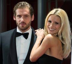 Michelle Hunziker und ihr Mann Tomaso Trussardi. (Bild: Keystone)