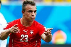 Schon wieder Tor: 2:0 für die Schweiz! (Bild: Keystone)