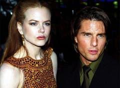 3. September 1999: Die Australierin Nicole Kidman und ihr damaliger Ehemann Tom Cruise. (Bild: Keystone)