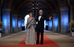Prinzessin Margriet, Schwester von Königin Beatrix, mit ihrem Ehemann Pieter van Vollenhoven. (Bild: Keystone)