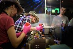 23.-25. MŠrz Burger-Festival in der Olma (Bild: Michel Canonica)