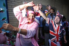 Der Prinz ist da - Grossbritannien freut sich. (Bild: Keystone)