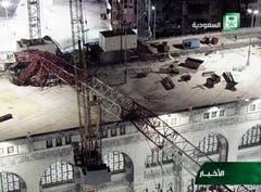 Saudi Crane Collapse (Bild: Keystone)