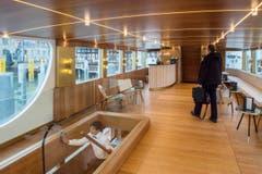 Einweihung der renovierten MS Säntis im Hafen Romanshorn. (Bild: Reto Martin)