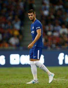 Platz 9: Alvaro Morata. Am 19. Juli 2017 für 80 Millionen Euro von Real Madrid zu Chelsea. (Bild: Wallace Woon / Keystone)