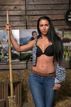Nun zu den Bildern aus dem Casting: Sie hat Ausstrahlung - Olga aus Zug (Bild: pd)