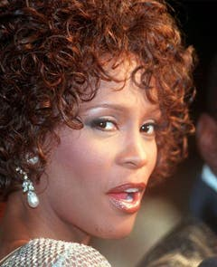 Whitney Houston, porträtiert in Los Angeles am 13. Oktober 1997. Die Sängerin steckt in den Aufnahmen zu ihrem vierten Studioalbum «My Love Is Your Love». (Bild: Keystone)