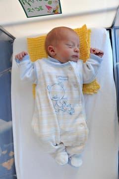 Ramon , 14.12.10, 2850 g (Klinik Stephanshorn) (Bild: Ralph Ribi)
