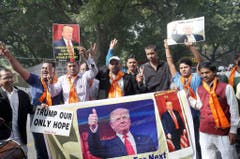 Indian Hindu sena to support US Republican presidential candidate Donald Trump (Bild: Keystone)