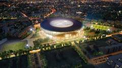 Jekaterinburg (1,5 Mio. Einwohner)Stadion: ZentralstadionKapazität: 35'696Kosten (Umbau): ca. 150 Mio. FrankenEröffnung: noch im BauKlub: Ural Oblast SwerdlowskWM-Spiele: Gruppenphase (4) (Bild: Handout Fifa)